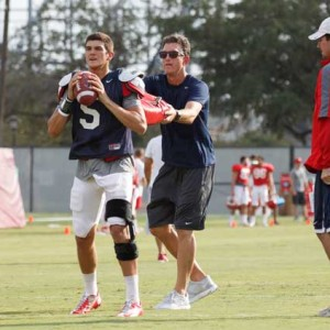 A new quarterback has been just one change offensive coordinator Doug Meacham has managed. | Justin Tijerina/The Daily Cougar