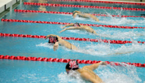 The UH swimming and diving team had won its first two meets against Tulane and SMU, prior to its meeting against Texas A&M this weekend. | File Photo