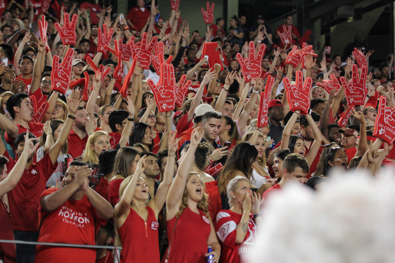 Houston fans must now follow new procedures to claim student tickets. | File photo