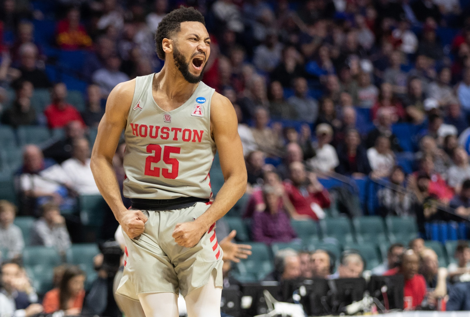 Galen Robinson Jr. will be headed to San Antonio for the summer before playing with its G-League affiliate, the Austin Spurs. | File photo/The Cougar