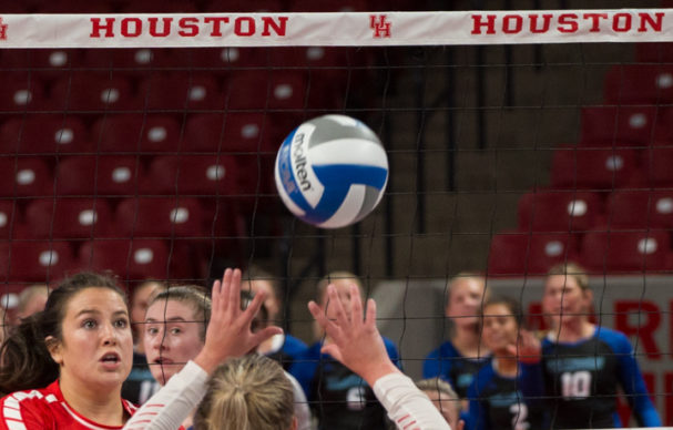 The UH volleyball teams American Athletic Conference Tournament run came to an end on Friday after Temple won three straight sets to get past the Cougars.   Trevor Nolley/The Cougar