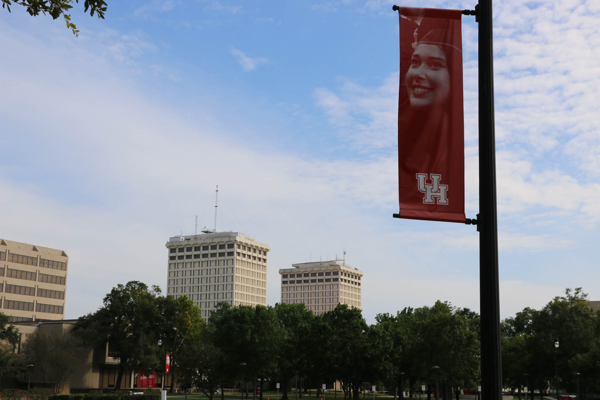 Moody Towers will remain open if demands for on-campus housing for the fall is needed, according to Yackley. | Sydney Rose/The Cougar