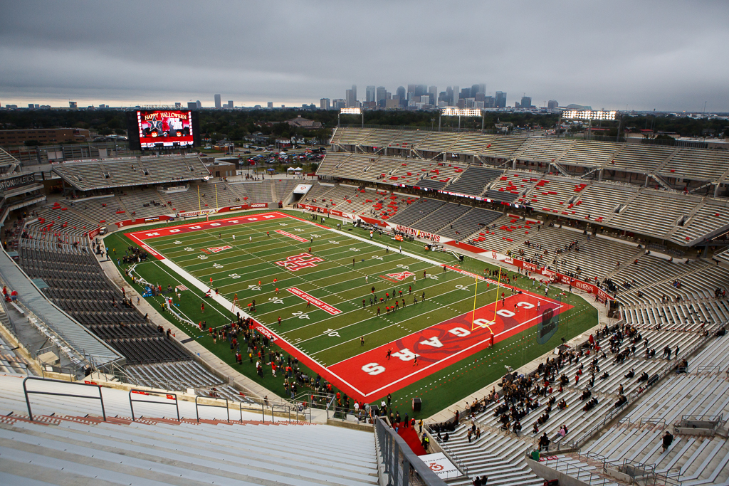 While UH athletics wishes to have fans be able to attend live games this fall, contests without a live audience is a real possibility. | File photo
