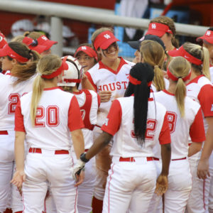 The UH softball team played against Sam Houston State in a doubleheader on Wednesday. | File photo