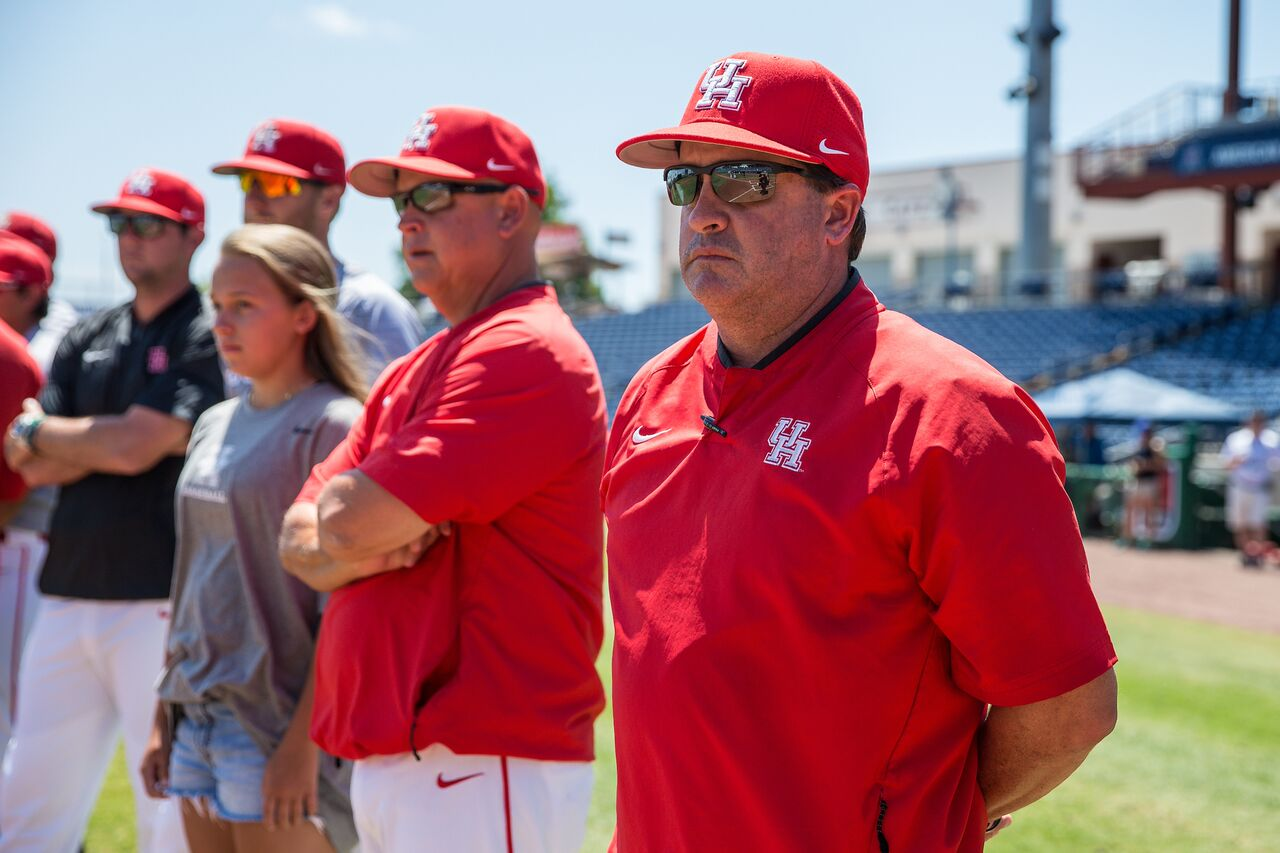 UH baseball coach Todd Whitting said the target date for his team to return to campus is around Aug. 1, closer to when fall classes begin. | Courtesy of UH athletics