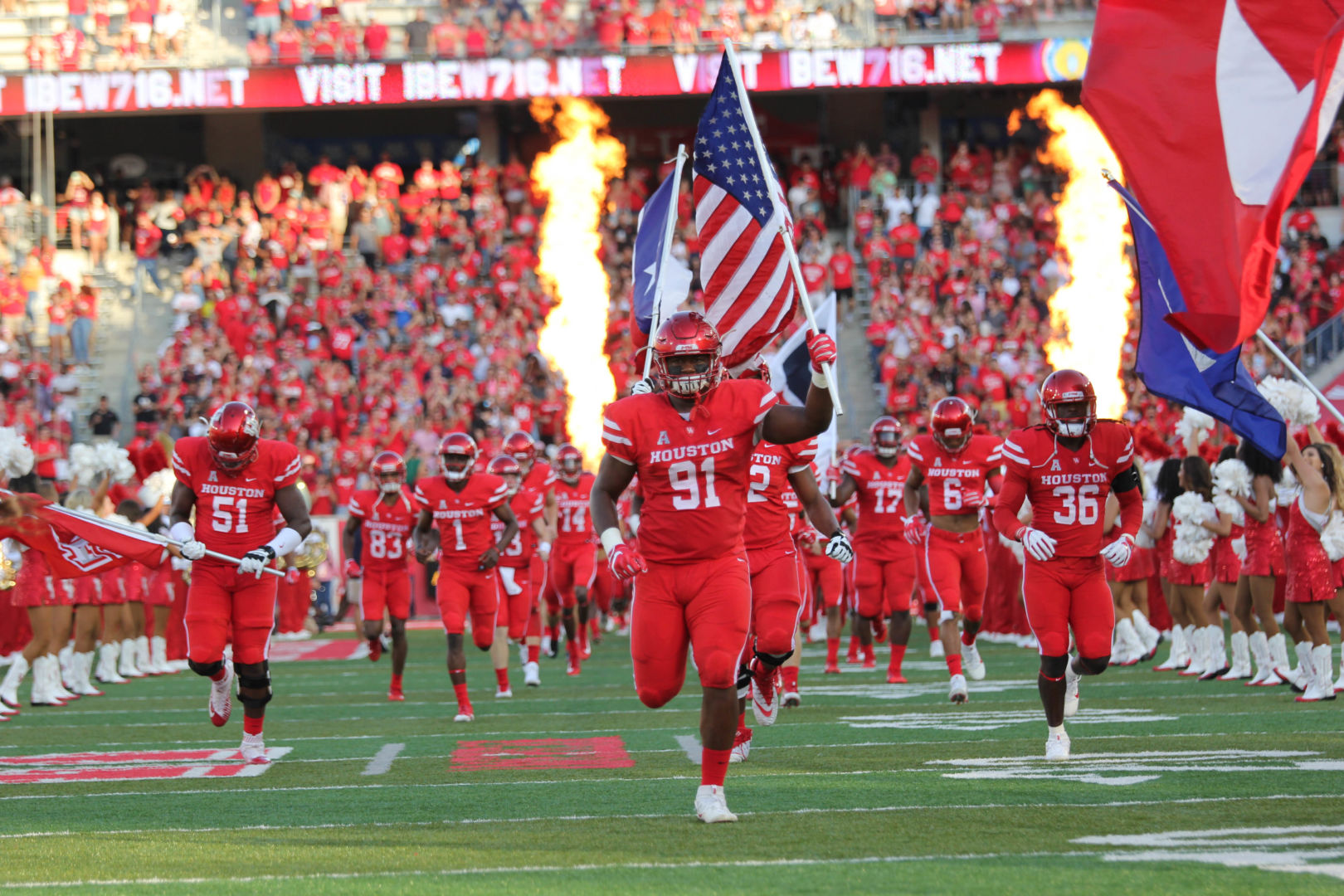 Get your ticket to watch the first home football game of the season against A&M Prairie View on Saturday. | File photo/The Cougar