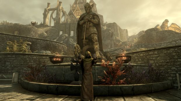 Video games and faith. Priest in Skyrim