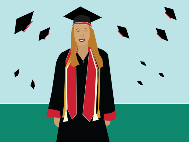 There may be no time as contradictory as graduating college. Students experience a cocktail of emotions, usually joy, elation and relief, and at the same time, fear, doubt and turmoil as many changes lie ahead.