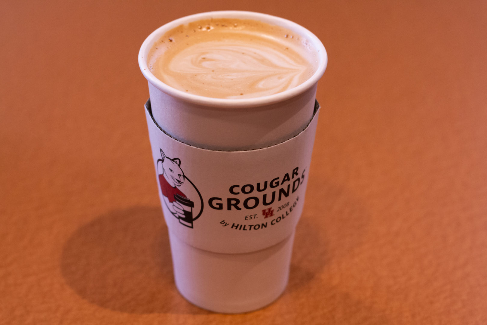 Cougar Grounds, the student-run campus cafe, carries almond, oat and coconut milk and offers vegan snack bars. | Kathryn Lenihan/The Cougar