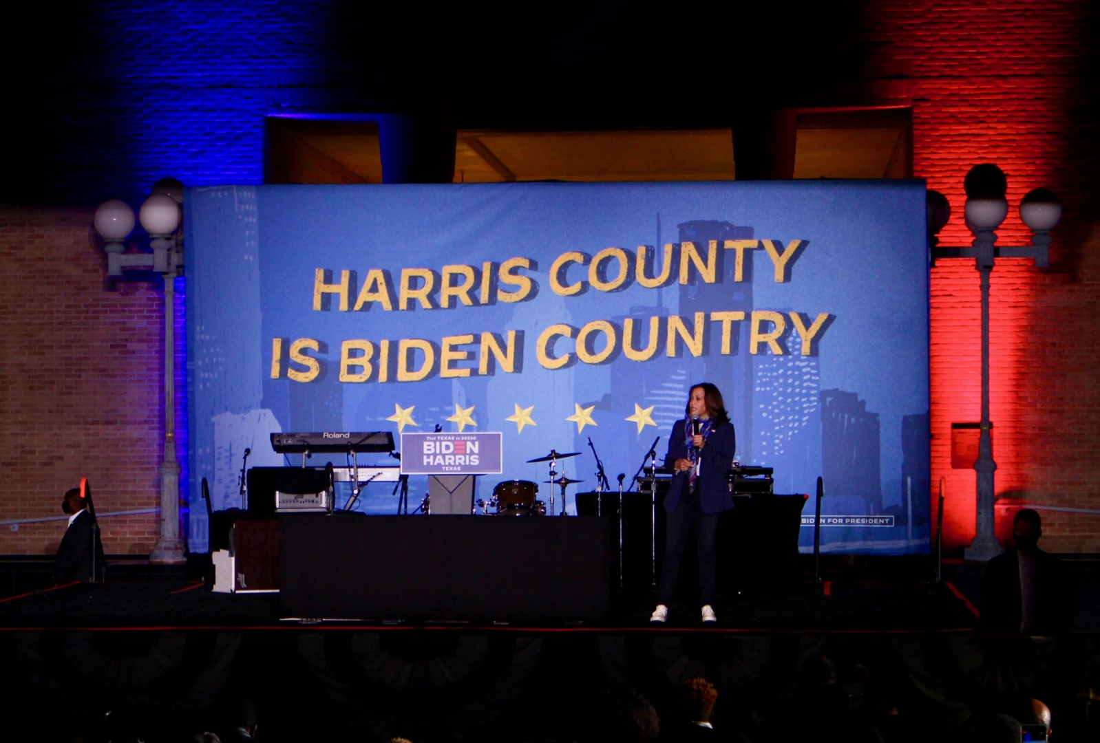 Vice President-elect Kamala Harris became the first woman of color to be elected to the nation's second-highest office. | Donna Keeya/The Cougar